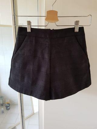 Kookai black Hampton shorts
