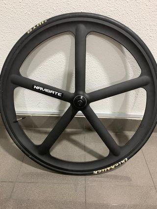 Navigate Aerospoke wheelset