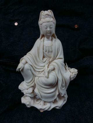 德化白瓷 蘇清河坐石觀音