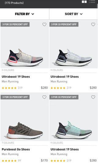 Ultraboost 19, buy 3 pairs 33%discount. Anyone wants to buy together?