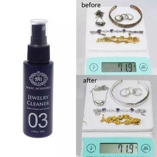 50ML Quick Gem Jewelry Cleaner Anti-Tarnish Cleaning Diamond Silver Gold Jewelry