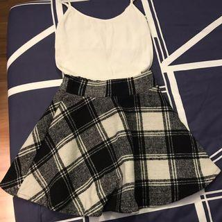 🚚 Checkered Skirt