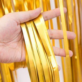 Chrome Curtain - Gold (2 m)