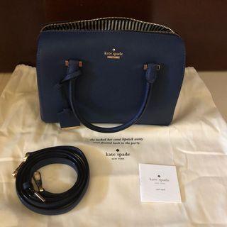 🚚 Kate Spade Speedy Bag in Blue