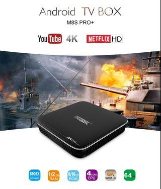 Android box MECOOL M8S PRO+ TV Box