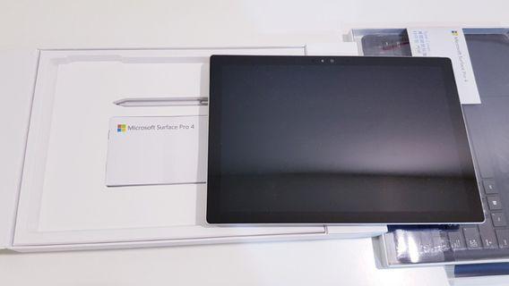 Surface Pro 4 I5/8G/256G 有盒裝手寫筆 鍵盤