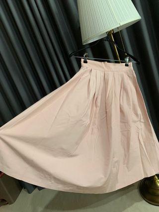 COCO RIBBON - Pink skirt