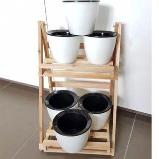 Self Watering Pot Round
