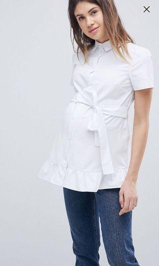 Asos maternity blouse size AU8