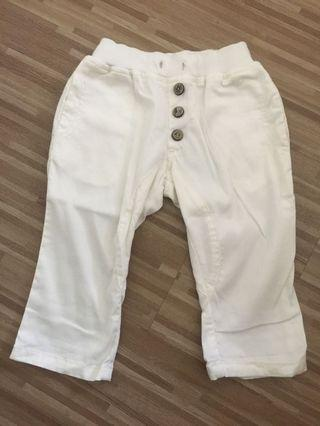 🚚 White Toddler Boys Pants