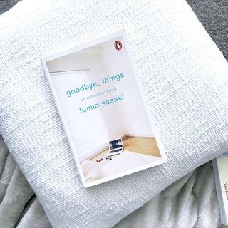 Goodbye, things on minimalist living by Fumio Sasaki