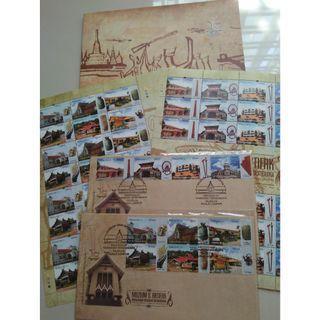 Muzium & Artifak Folder (Stamp)