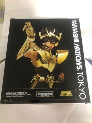 Tamashii Nations Tokyo EX聖衣神話 天馬座 聖鬥士星矢 新生青銅聖衣 Golden Limited Edition 盒不完美
