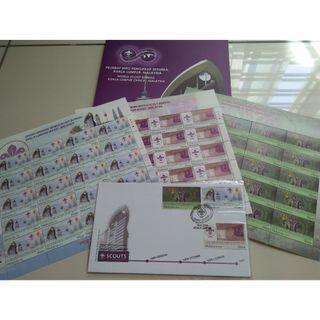 Pejabat BIRO Pengakap Sedunia KL Folder (Stamp)