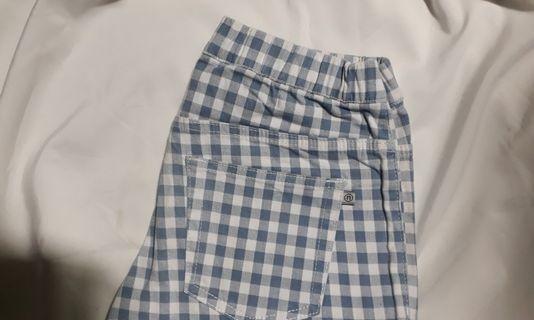 Celana panjang nevada tartan kotak-kotak