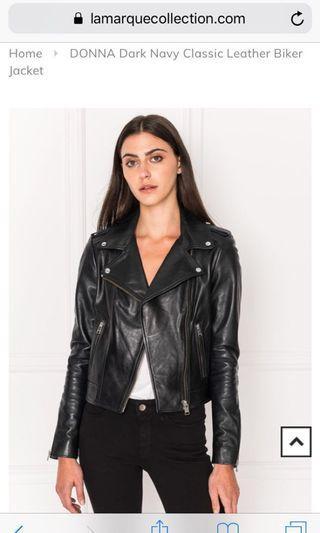 Lamarque Donna Leather Jacket Medium