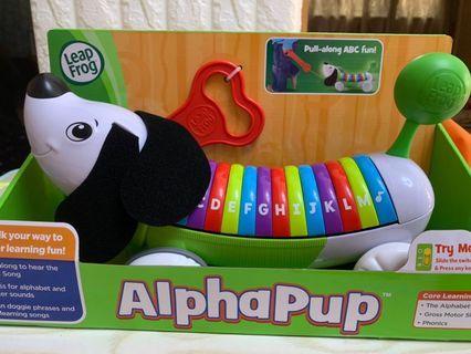 Leap Frog Alphapup 音樂狗