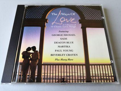 The Ways Of Love Classic Love Songs CD