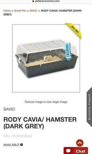 Savic guinea pig hamster cage