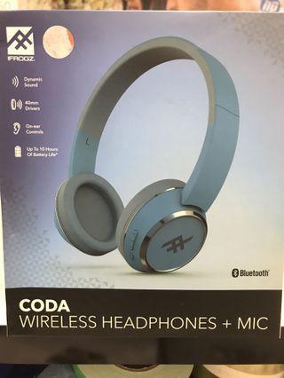 coda bluetooth headphone