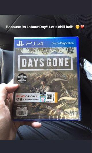 PS4 Brand New Game - Days Gone