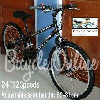 "24"" MTB / Mountain Bike * 12Speed * Aluminium Pedals * Brand New Bicycle"