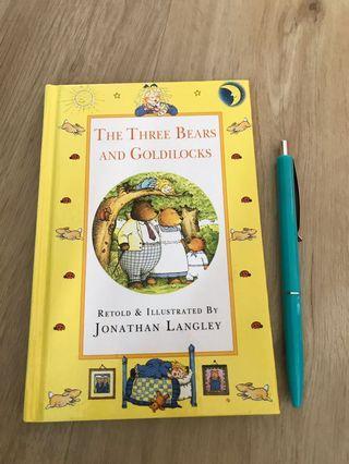 🚚 BN storybook: The Three Bears and Goldilocks