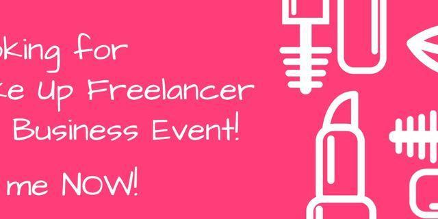 🚚 Looking for Make Up Freelancer