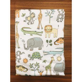🚚 Flannel Handcrafted Baby Blanket - Animal Kingdom