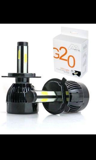 G20 led headlight/foglight 4sided canbus