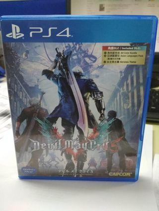 Ps4 Game devil may cry 5 dmc