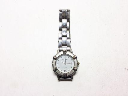CLAC quartz watch 經典品牌石英錶 小錶徑 銀色不鏽鋼材質 男女皆可 中性腕錶 復古風格 正常行走