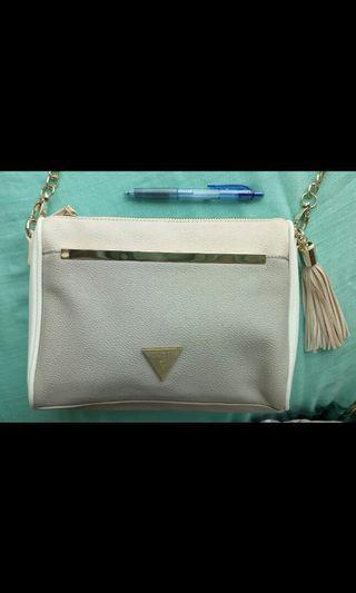 Guess small pastel handbag clutch 粉色小手袋