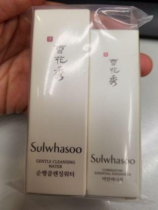 雪花秀 新sample 25ml+8ml