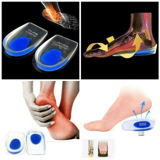 57c8991f5f Orthotic Plantar Shoes/Heel Support Relief Pain Arch Support Soft Silicone  Insole Pads (1