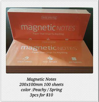 🚚 MAGNETIC NOTES