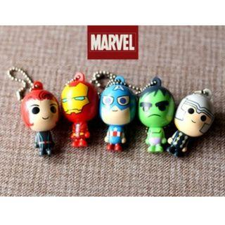 [包郵] Marvel Avengers 復仇者 匙扣掛件