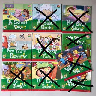 Pearson Stories 幼稚園英文故事書 K2