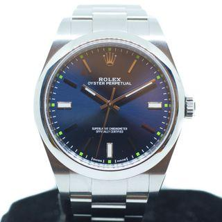 Like New Rolex Oyster Perpetual 39mm in Steel Ref: 114300