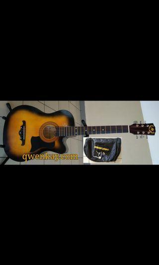 A&K Acoustic Guitar 38Inch #010 Sunburst