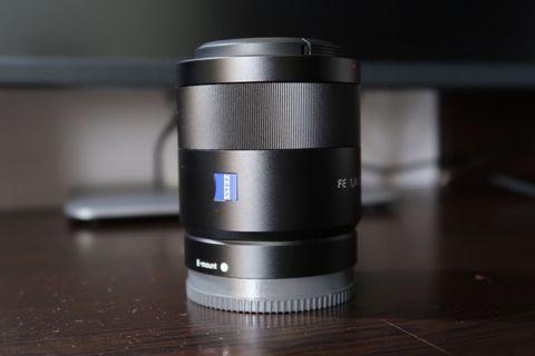Sony 55mm F1.8 zesis sel55f18z