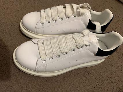 Alexander McQueen White & Black Sneaker