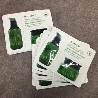 Innisfree Green Tea Seed sample set