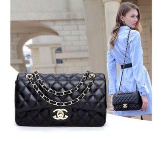 Classic Flip Quilted Chain Handbag