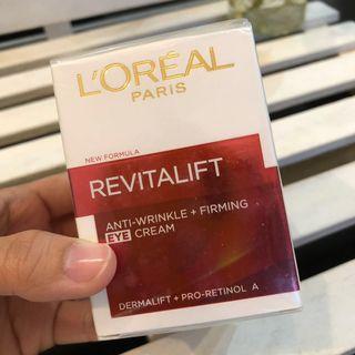 L'oreal Paris Anti-Wrikle + Firming Eye Cream 15ml