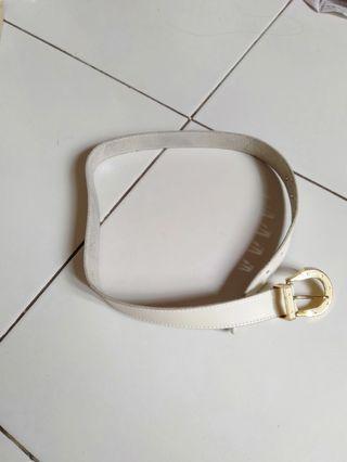 White Belts BY VERSACE ORI