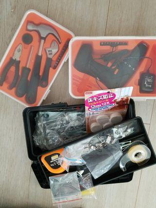Almost New: IKEA Tools, Drill & Storage Box