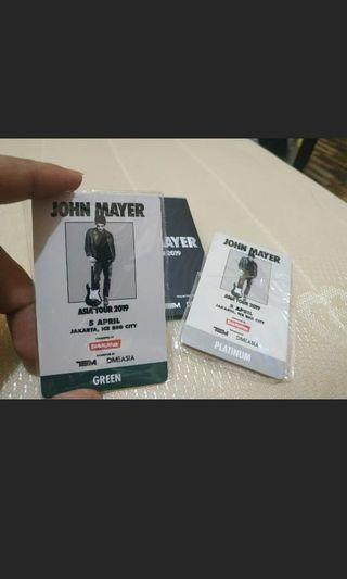 Merchandise Jhon Mayer RFID