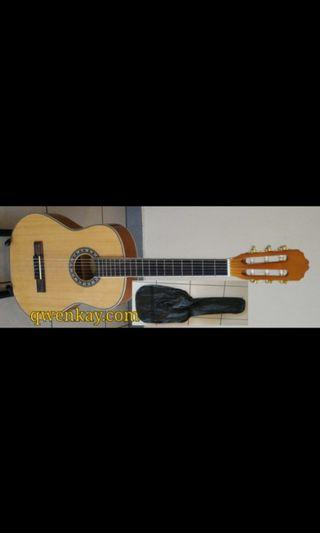 A&K Classi Guitar C150B Size 3/4