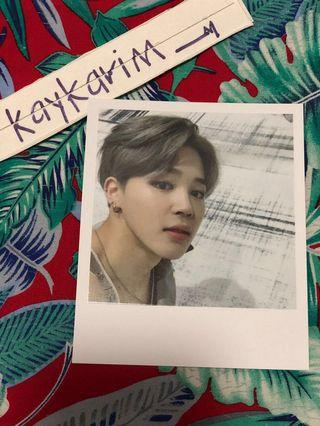 [Price Reduced] WTS Bts Wings Jimin Official Photocard